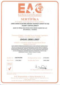 166-OH-026-EAC-Omis Enerji-B1-OHSAS-2015948